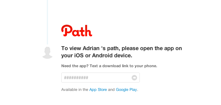 Path redirect