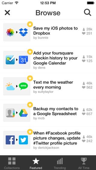 iftt iphone app