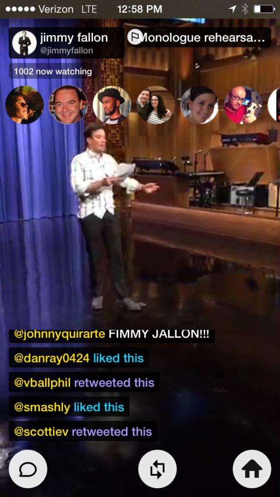 Jimmy Fallon on Meerkat