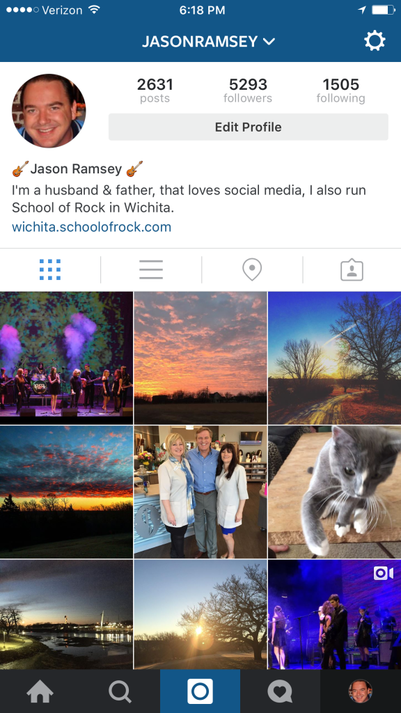 Jason Ramsey Instagram